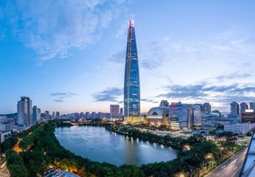 Lotte World Tower Draws Over 10 Million Visitors in 100 Days
