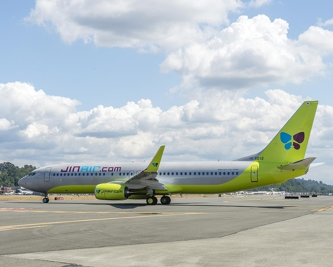 Jin Air Adds B737-800 to Strengthen Fleet Amid Growing Demand