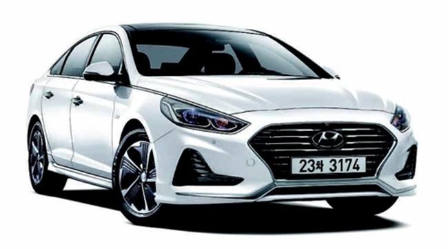 Hyundai Motor's Sonata New Rise plug-in hybrid model (Image: Hyundai Motor)