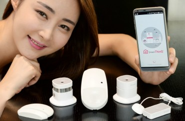 LG Electronics Showcases 5 IoT Sensors for Households