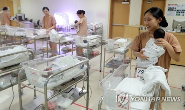 Childbirths Drop for 6th Straight Month in May