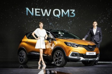 Renault Samsung Upgrades QM3 to Compete with Rival Subcompact SUVs