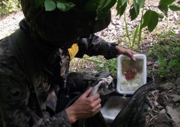 South Korean Army Base Uses Disposable Lunch Boxes Amid Heat Wave