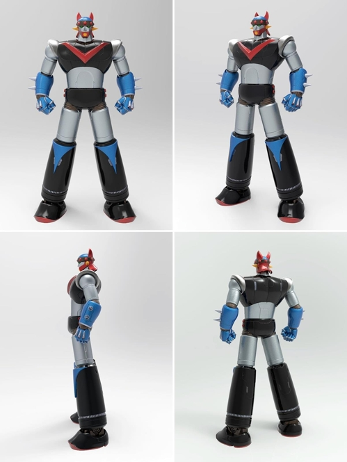 "Pre-order sales of Robot Taekwon V action figures at Toys""R""Us are set to continue until August 7. (Image: Lotte Mart)"