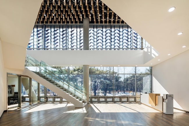 A wood museum in Incheon, west of Seoul, has been chosen for an architectural prize of a world authority, according to the awards' website on Thursday. (Image: SOftARchitectureLAB)