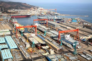 S. Korean Shipyards Estimated to Have Clinched Record New Orders in First Half