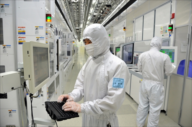 "The ""super cycle"" that the semiconductor industry has found itself in has nudged the mining and manufacturing industry's production up by an incremental amount. (Image: Samsung Electronics)"