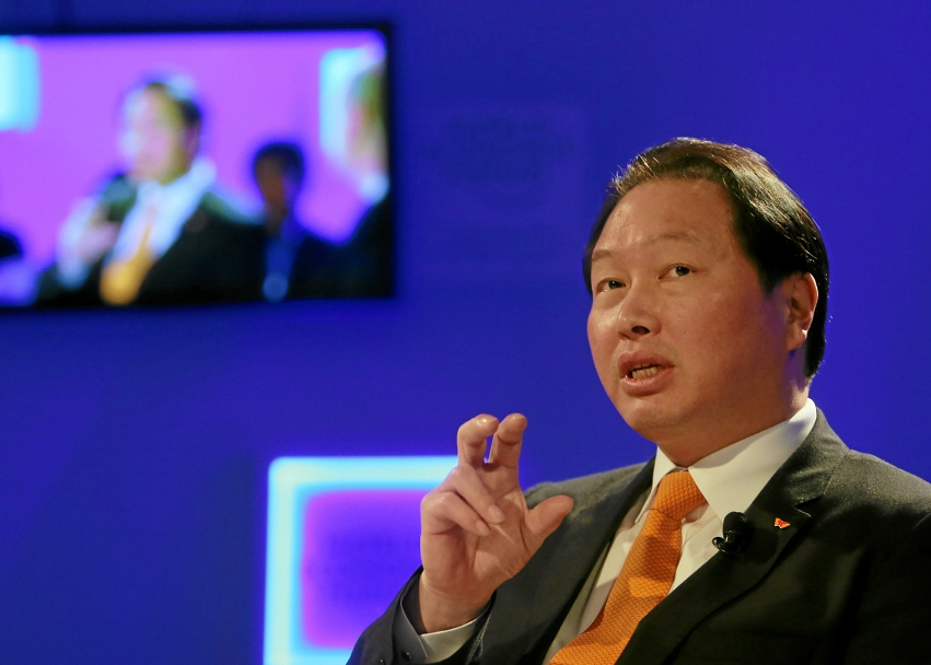 SK Group Chairman Chey Tae-won (image: SK Group)