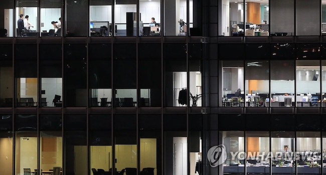 "Netmarble Games' Deadly ""Crunch Time"" Work Culture in the Public Crosshairs. (Image: Yonhap)"