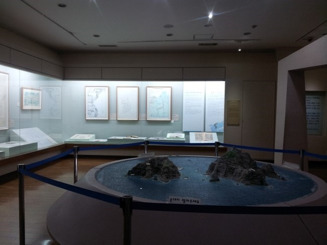 After the exhibition comes to an end, all of Han's works displayed during the exhibition will be donated to the museum, officials said. (Image: Dokdo Museum)