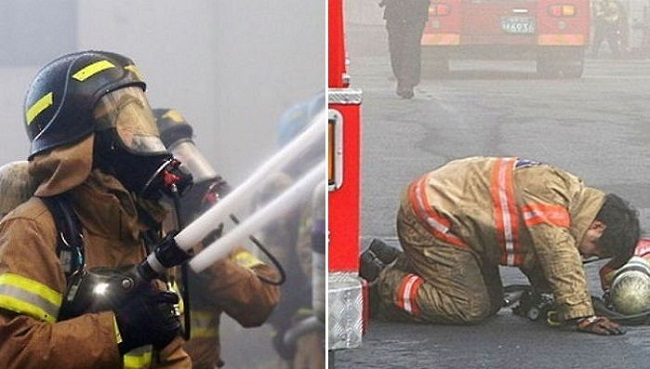 One Third of Korean Fire Dept. Personnel Suffer From Mental Health Problems, But No One Seems to Care. (Image: Yonhap)