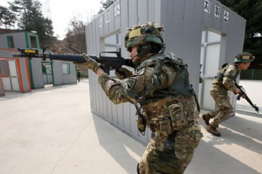 """Yebigun"" Army Reserve Forces in North Chungcheong Get Upgraded Training Facilities"