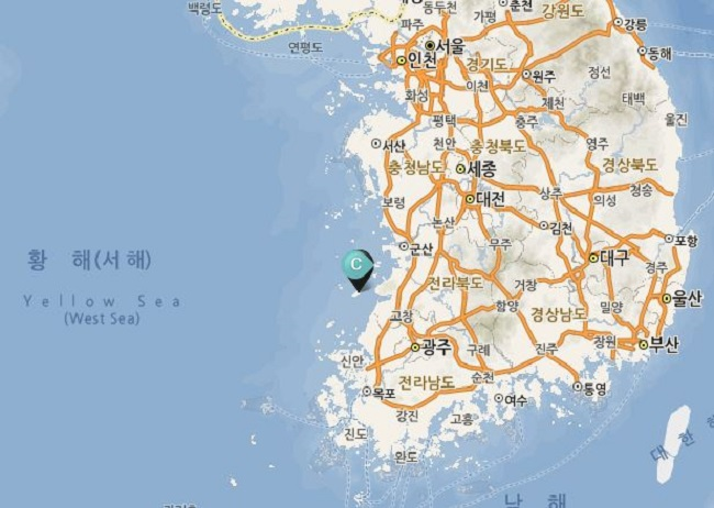 """A tropical moth coming to the island of Wido is a harbinger of climate change on the peninsula,"" Son said. (Image: Korea Tourism Organization)"