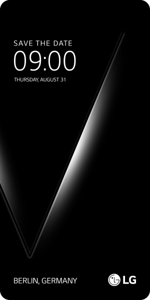 The company plans to introduce the device in Berlin on Aug. 31. (Image: LG Electronics)