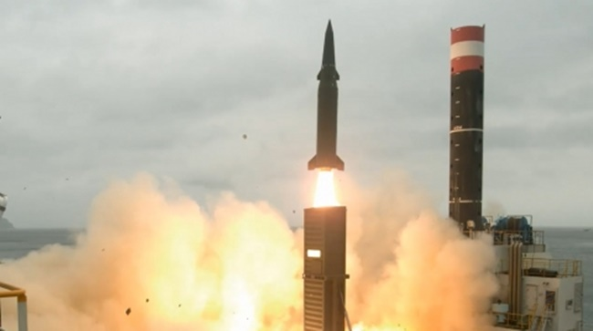 The release of the video comes following North Korea's launch of another ballistic missile in the early hours of Tuesday, passing Japanese skies for the first time, with Prime Minister Lee Nak-yon calling the unprovoked military action 'a whole new level of grave provocation', concerning the distance the missile flew. (Image: Yonhap)