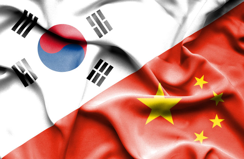 The report released on Sunday by the Institute for International Trade suggests the relations between South Korea and China are entering the biggest 'point of inflection' since 1992 when the two established diplomatic relations, given the changes in Chinese industry as well as political and economic issues. (Image: Kobiz Media)