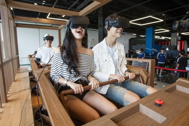 South Korea's Largest VR-Theme Park Opens in Incheon