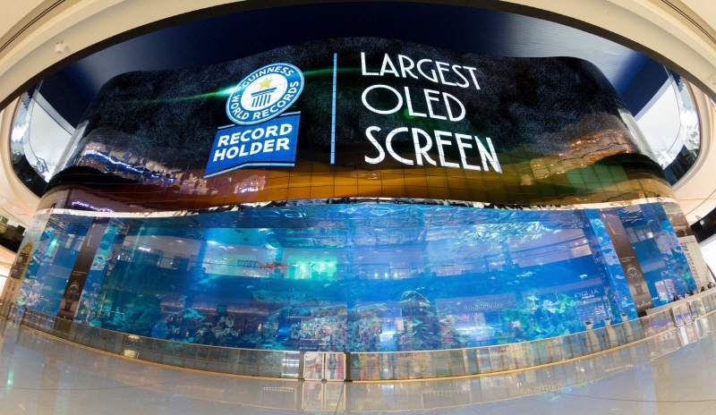 LG Electronics Showcases World's Largest OLED Signage