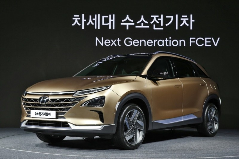 Hyundai to Launch New Fuel-cell Electric SUV Next Year