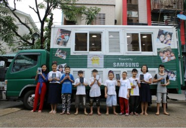 Samsung Bolsters Education Program in Myanmar for Children
