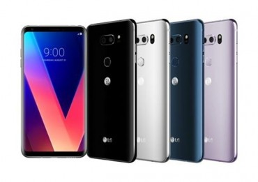 LG Electronics Showcases 6-inch V30 with High-End Camera, Audio