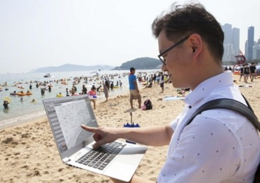 SK Telecom Uses Big Data to Count Haeundae Beachgoers