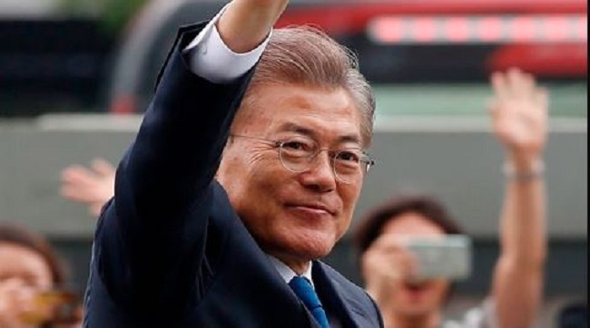 Moon's Approval Rating Rises To 73.9 Percent