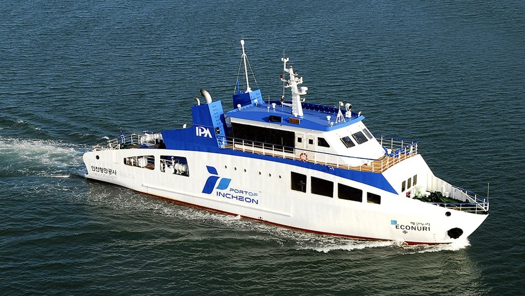 According to IPA officials, the vessel, which the organization claims to be Asia's very first LNG-fueled ship, received international attention at this year's LNG Bunkering Conference held in Singapore. (Image: IPA)