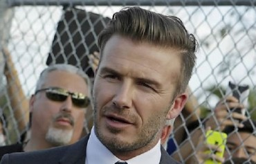 David Beckham to Visit S. Korea Next Month