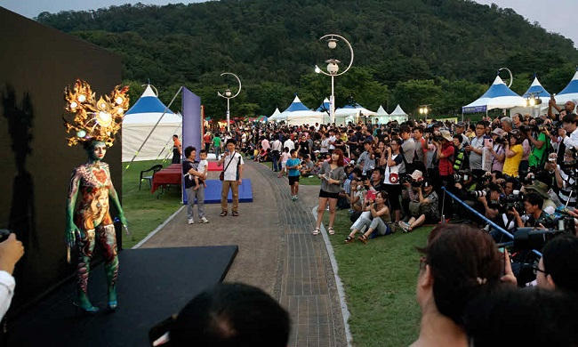 Daegu Hosts 10th International Body Painting Festival Be Korea Savvy