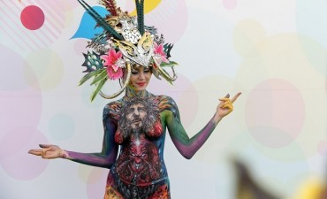 Daegu Hosts 10th International Body Painting Festival