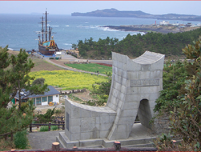 "She added, ""After the completion of the memorial I hope that there will be more cultural exchanges of the sea between the Netherlands and Korea."" (Image: Korea Bizwire)"