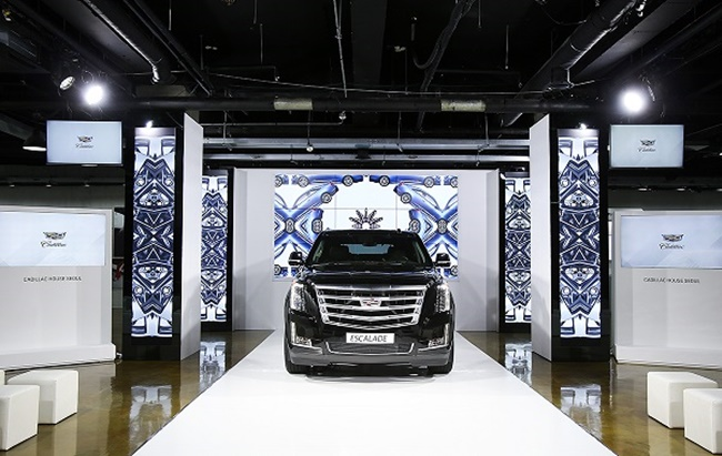 Cadillac has announced the opening of Cadillac House Seoul, an experience center in the South Korean capital where visitors can try out and enjoy the culture and products of the renowned American car maker. (Image: GM Korea)
