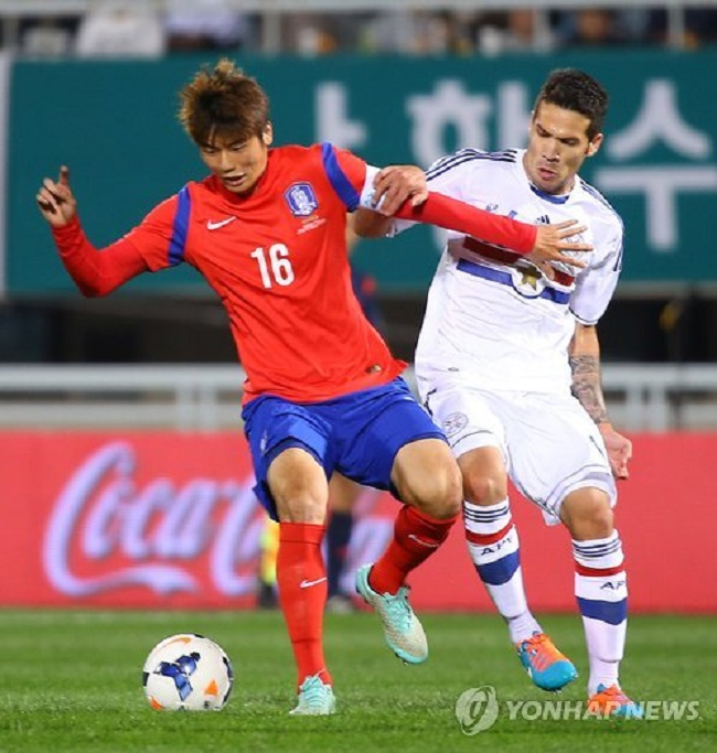 Ki said South Korea should not be too pressured about current status, but just concentrate on the next match. (Image: Yonhap)