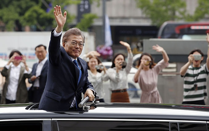 100 Days in Office, President Moon Sets Tone for Tough Reforms