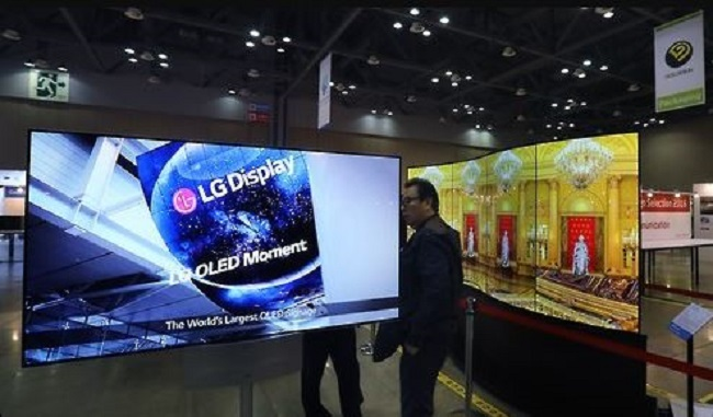 LG Electronics Inc. said Wednesday it has partnered with Bang & Olufsen (B&O) to adopt the Danish company's audio solution for its organic light-emitting diode (OLED) TVs starting in September. (Image: Yonhap)