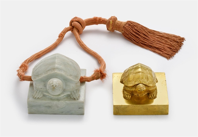 Recovered Royal Seals Go on Display at Nat'l Palace Museum