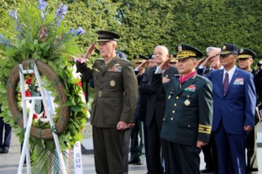 President Meets Former POWs Marking Armed Forces Day