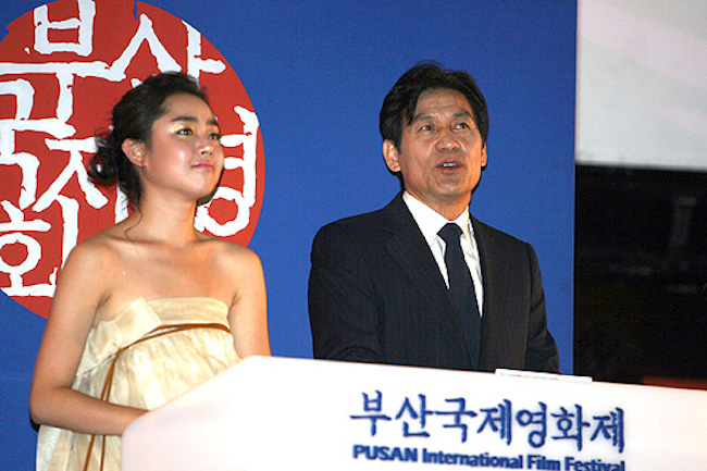 """The news that """"Glass Garden"""" starring Moon Geun-young will be screened as the 22nd BIFF opening movie in October was spread on the internet, starting from Korean film industry's epicenter in Seoul's Chungmuro district on September 7, and was even broadcast on some media.  (Image: Yonhap)"""