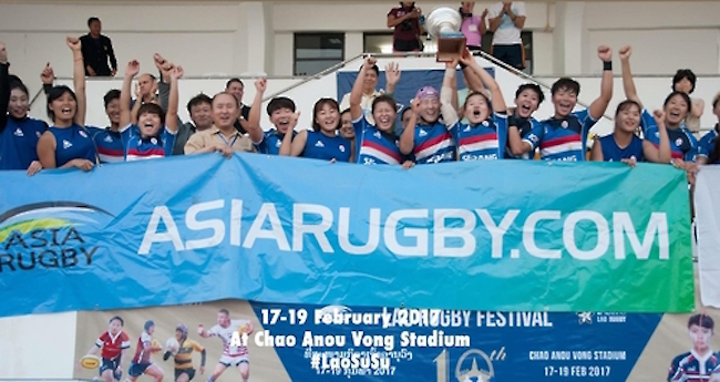After conducting off-season training in China, the well-prepared women's team is a dark horse candidate to upset heavily favored Hong Kong. (Image: Korea Rugby Union)