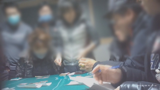 "He specifically points out that illegal syndicates target ""menopausal women or women who are depressed"" and ""curry favor with these women by going to saunas together and giving gifts"". (Image: Yonhap)"