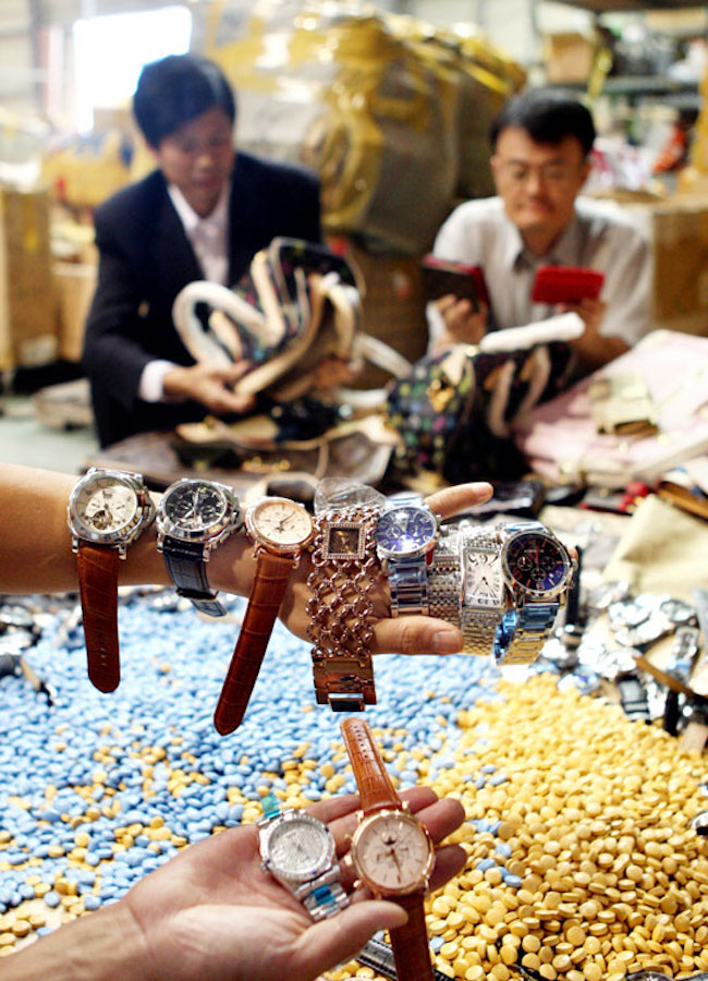 The measured total weight of all seized goods increased by 11 percent to 90,788 kilograms. (Image: Yonhap)