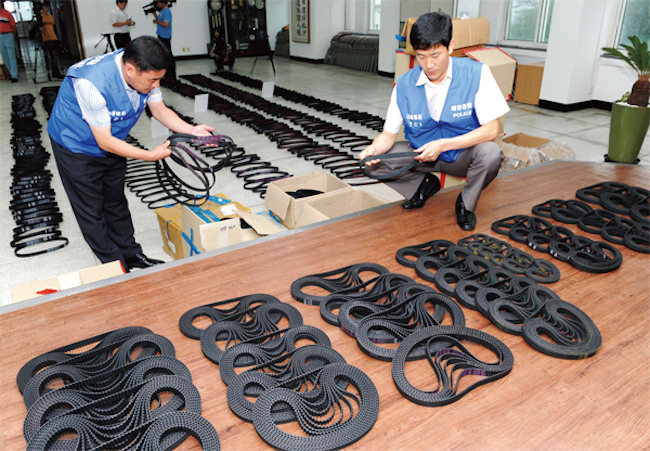 """Nearly 90 Percent of all Counterfeit Goods """"Made in China"""" 