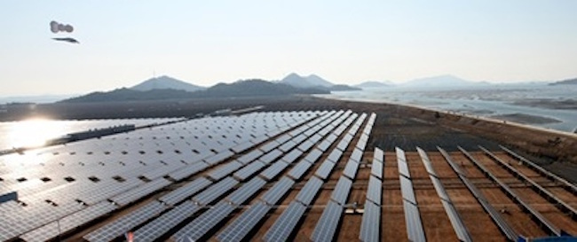 The prevailing view among solar power industry representatives at the September 25 meeting was that exports to the U.S. would take a hit regardless of what Trump decides. (Image: Yonhap)