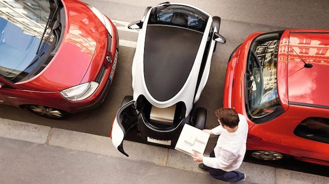 Mr. Pizza stated the four outlets will serve as testing grounds for Twizy-enabled delivery. (Image: Renault Samsung)