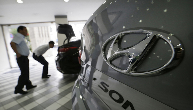 The company first broke into the Top 100 in 2005 with a brand valuation of 13.1 billion US dollars. (Image: Yonhap)