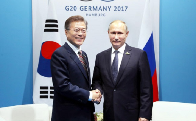 S. Korean President to Visit Russia for Summit with Putin