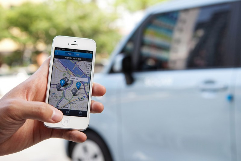 S. Korean IT Firms Setting Eyes on Car-sharing Services