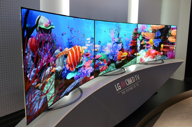 LG OLED TV Wins Positive Responses in U.S., Europe