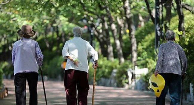With a plummeting birth rate and soaring life expectancy, care workers are emerging as one of the crucial professions in an aging South Korea where seniors now account for over 14 percent of the country's population, but pressing issues such as difficult working conditions and poor treatment still remain unaddressed. (Image: Yonhap)